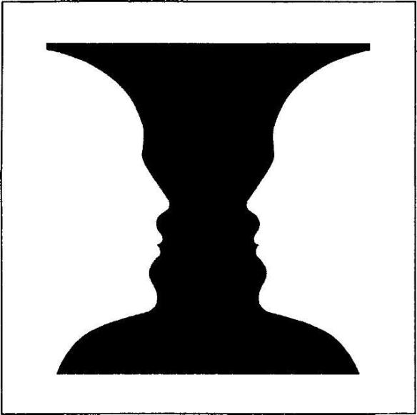 73d - vase and faces